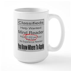 MIND READER Large Mug