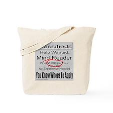 MIND READER Tote Bag
