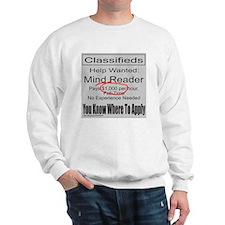 MIND READER Sweatshirt