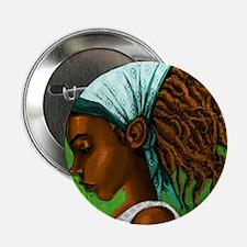 """Jamaican girl 2.25"""" Button"""