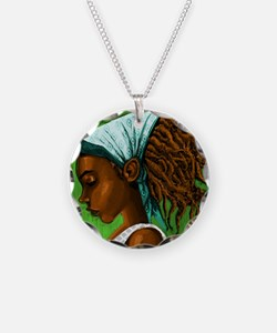 Jamaican girl Necklace