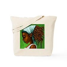 Jamaican girl Tote Bag