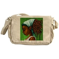 Jamaican girl Messenger Bag