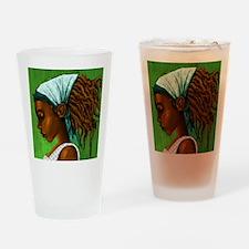 Jamaican girl Drinking Glass