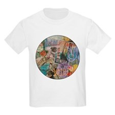 Venice Vintage Trendy Italy Travel Collage T-Shirt
