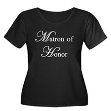 Matron of Honor Plus Size T-Shirt