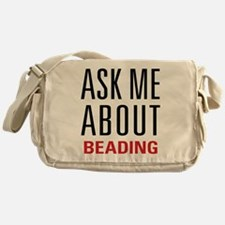 Beading - Ask Me About Messenger Bag