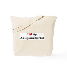 I Love Acupuncturist Tote Bag