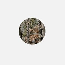 Realistic Tree Forest Camo Mini Button