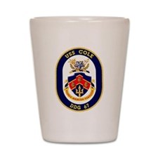 DDG 67 USS Cole Shot Glass