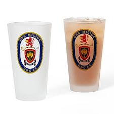DDG 69 USS Milius Drinking Glass
