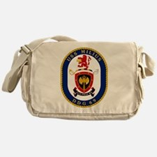DDG 69 USS Milius Messenger Bag