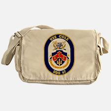 DDG 67 USS Cole Messenger Bag