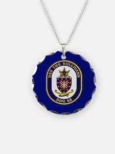 DDG 68 USS The Sullivans Necklace