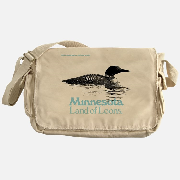 More Loons Messenger Bag