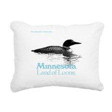 More Loons Rectangular Canvas Pillow