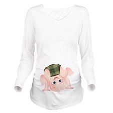 Fitzpatrick Baby Long Sleeve Maternity T-Shirt