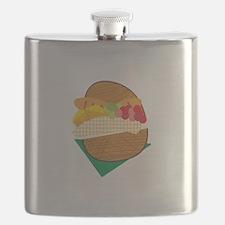 Picnic Basket Flask