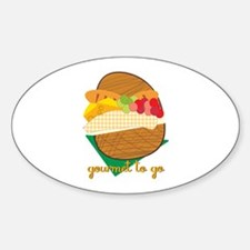 Gourmet To Go Decal