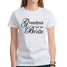 Grandma of the Bride T-Shirt