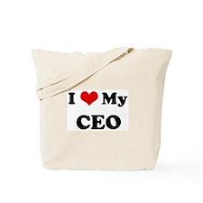 I Love CEO Tote Bag