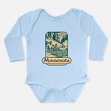 Call Long Sleeve Infant Bodysuit