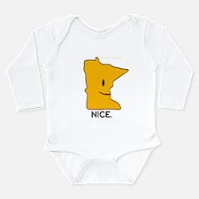 Nice Long Sleeve Infant Bodysuit