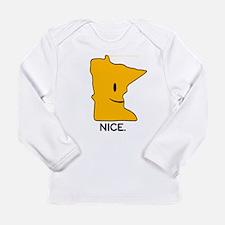 Nice Long Sleeve Infant T-Shirt