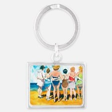 No Butts About It...Friends For Landscape Keychain