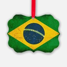 Brazil Flag Ornament