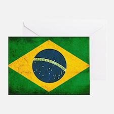 Brazil Flag Greeting Card
