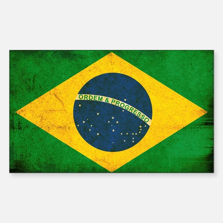 Brazil Flag Decal