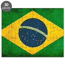 Brazil Flag Puzzle