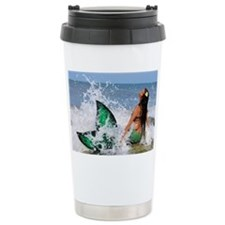 Mermaid Wave Travel Mug