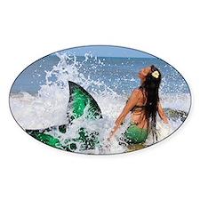 Mermaid Wave Decal