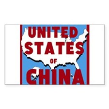 United States of China Decal