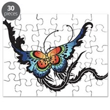 Orange/Blue Butterfly Puzzle