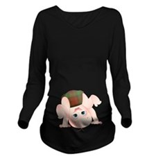 Kerr Baby Long Sleeve Maternity T-Shirt