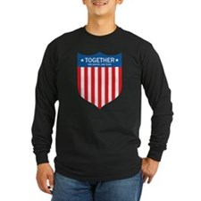 TOGETHER (ONE NATION.ONE TEAM) Long Sleeve T-Shirt