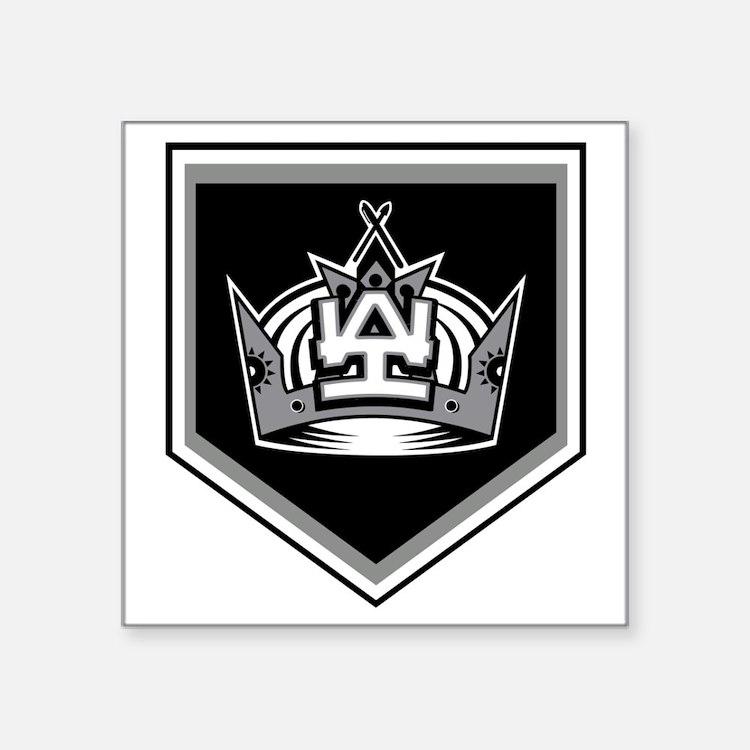 "Cute La kings hockey Square Sticker 3"" x 3"""
