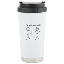 I've Got You Back Travel Mug
