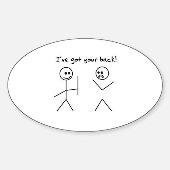I've Got You Back Decal