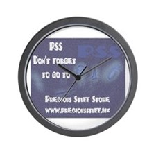 PSS Don't Forget 2 Wall Clock