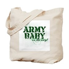 Army Baby On The Way!  Tote Bag