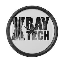 xray tech Large Wall Clock