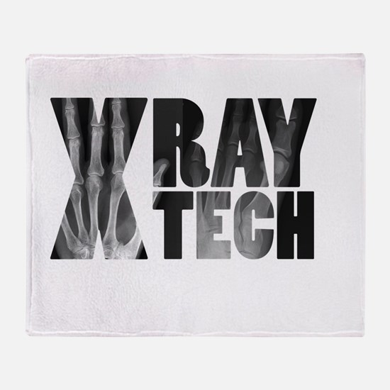 xray tech Throw Blanket