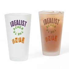 ENFJ IDEALIST PERSONALITY Drinking Glass