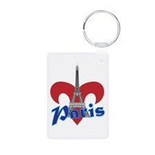 Paris Fleur de Lis Keychains