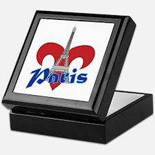 Paris Fleur de Lis Keepsake Box