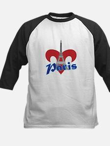 Paris Fleur de Lis Baseball Jersey